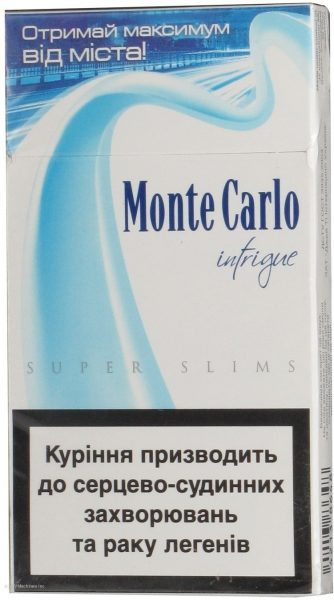 Monte Carlo Super Slims Intrigue