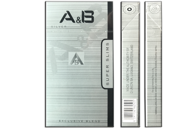 Сигареты A&B Super Slims Silver - фото 6