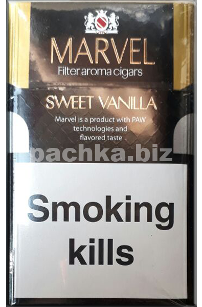 Сигареты MARVEL SWEET VANILLA КS - фото 7