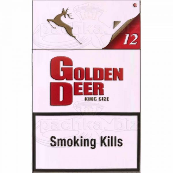 Сигареты Golden Deer Red - фото 6