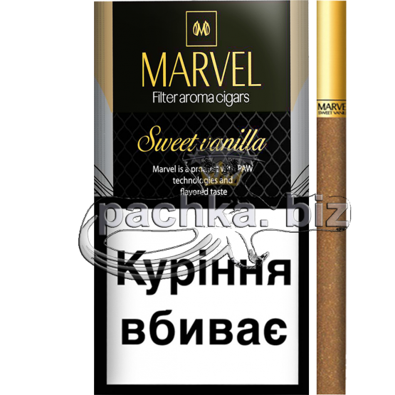 Сигареты MARVEL SWEET VANILLA КS - фото 1