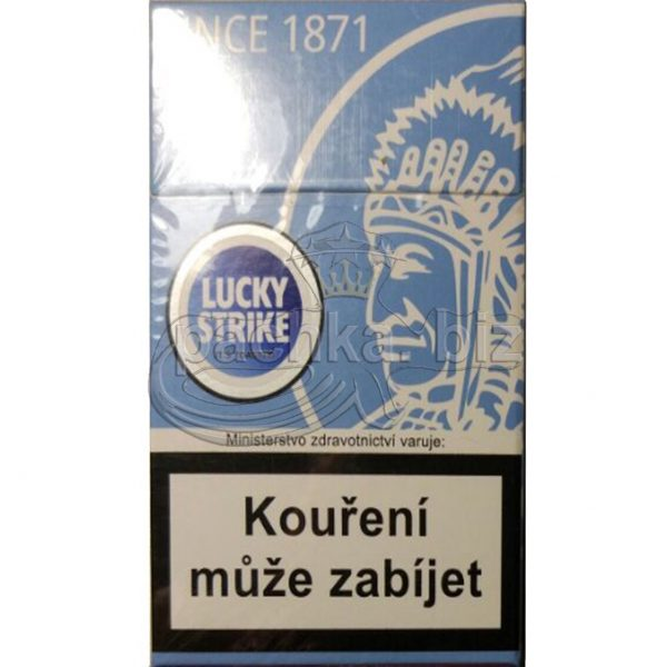 Сигареты LUCKY STRIKE Blue индеец дьюти