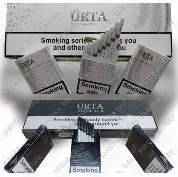 Сигареты URTA Black Duty-free - фото 16